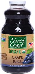 Jus de raisin bio North Coast