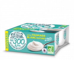 Fromage blanc Les 300 & Bio