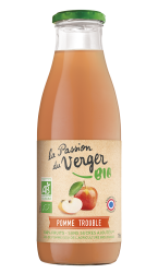 Jus de pomme trouble La Passion du Verger Bio